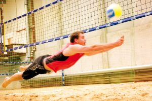 Strandvergnügen mit Sport: das beach38°