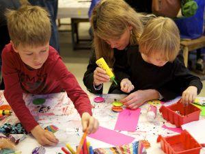 Im Kinderkunsthaus der Kreativität freien Lauf lassen