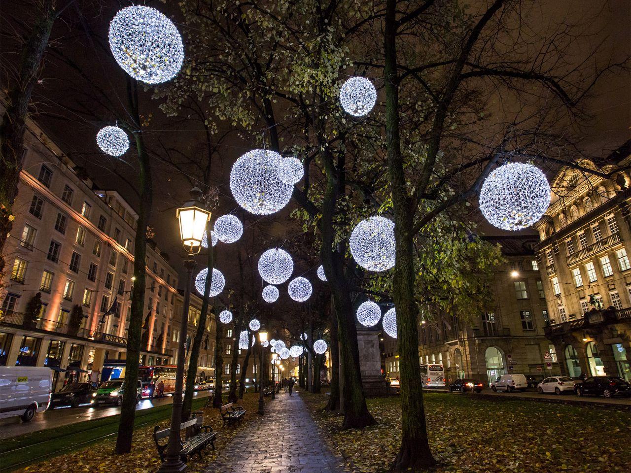 Weihnachtsbeleuchtung München.Wo München Wunderbar Weihnachtlich Leuchtet Das Offizielle