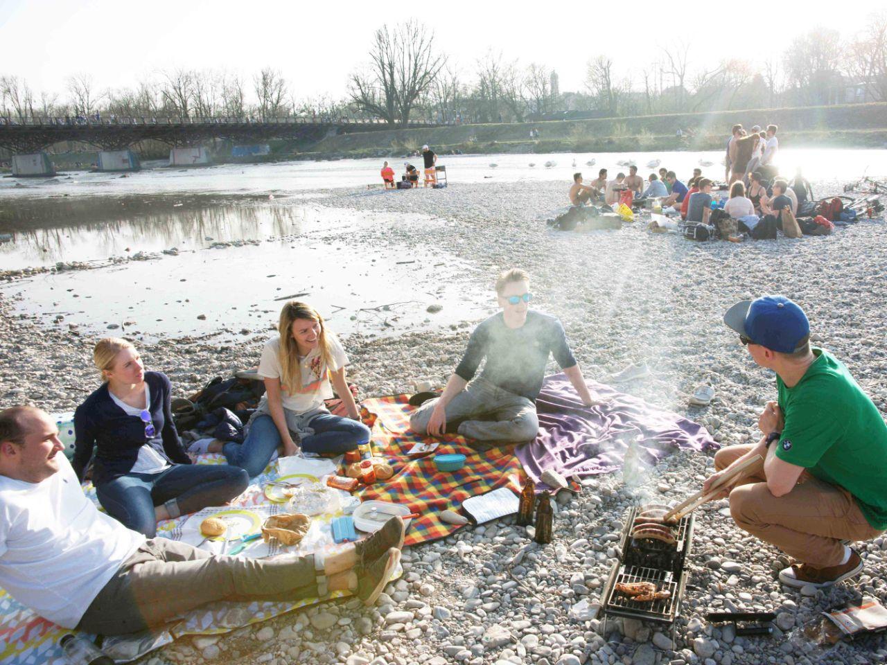 Isar picknick