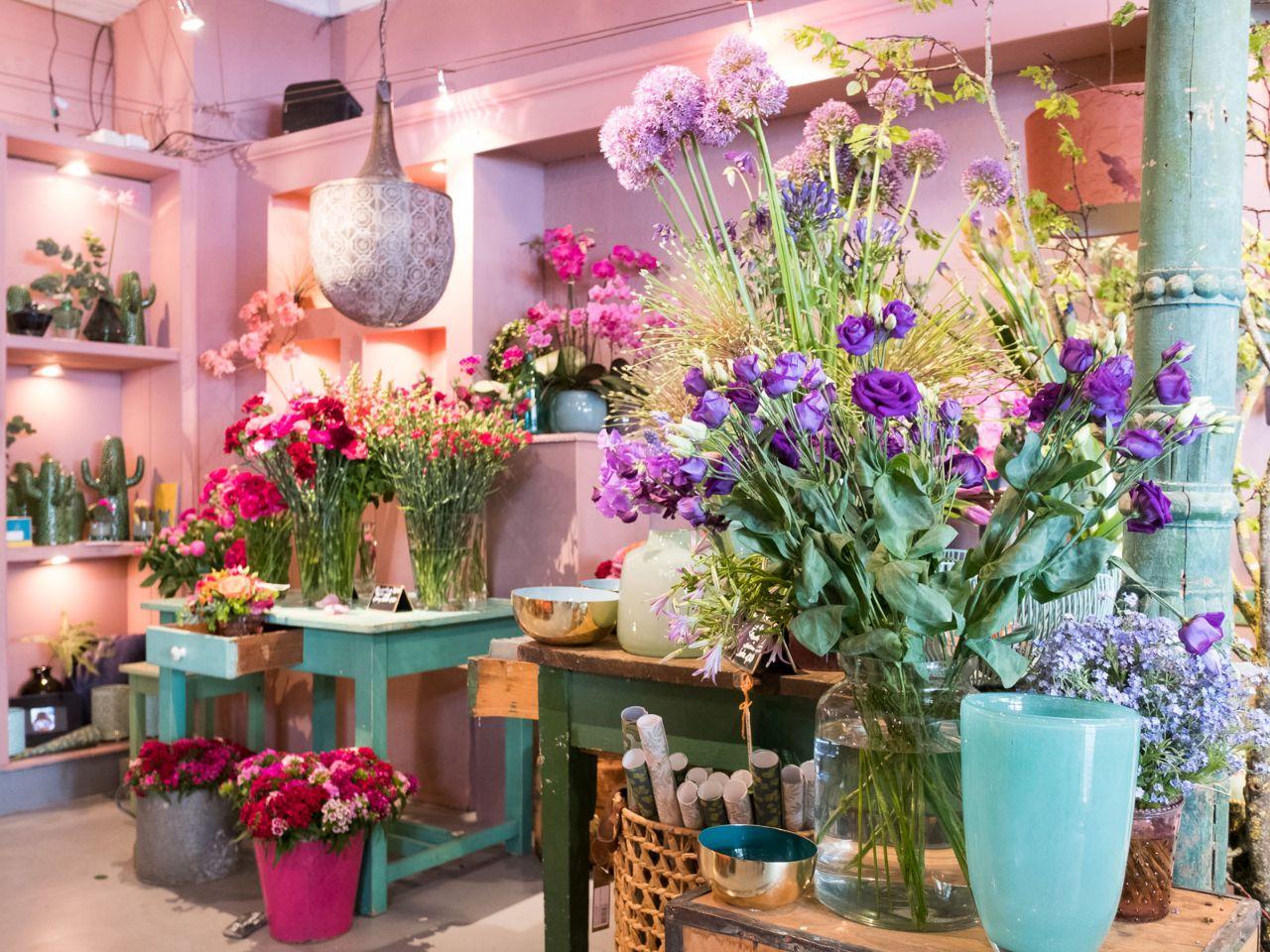Schöne Blumenläden - im offiziellen Stadtportal von München