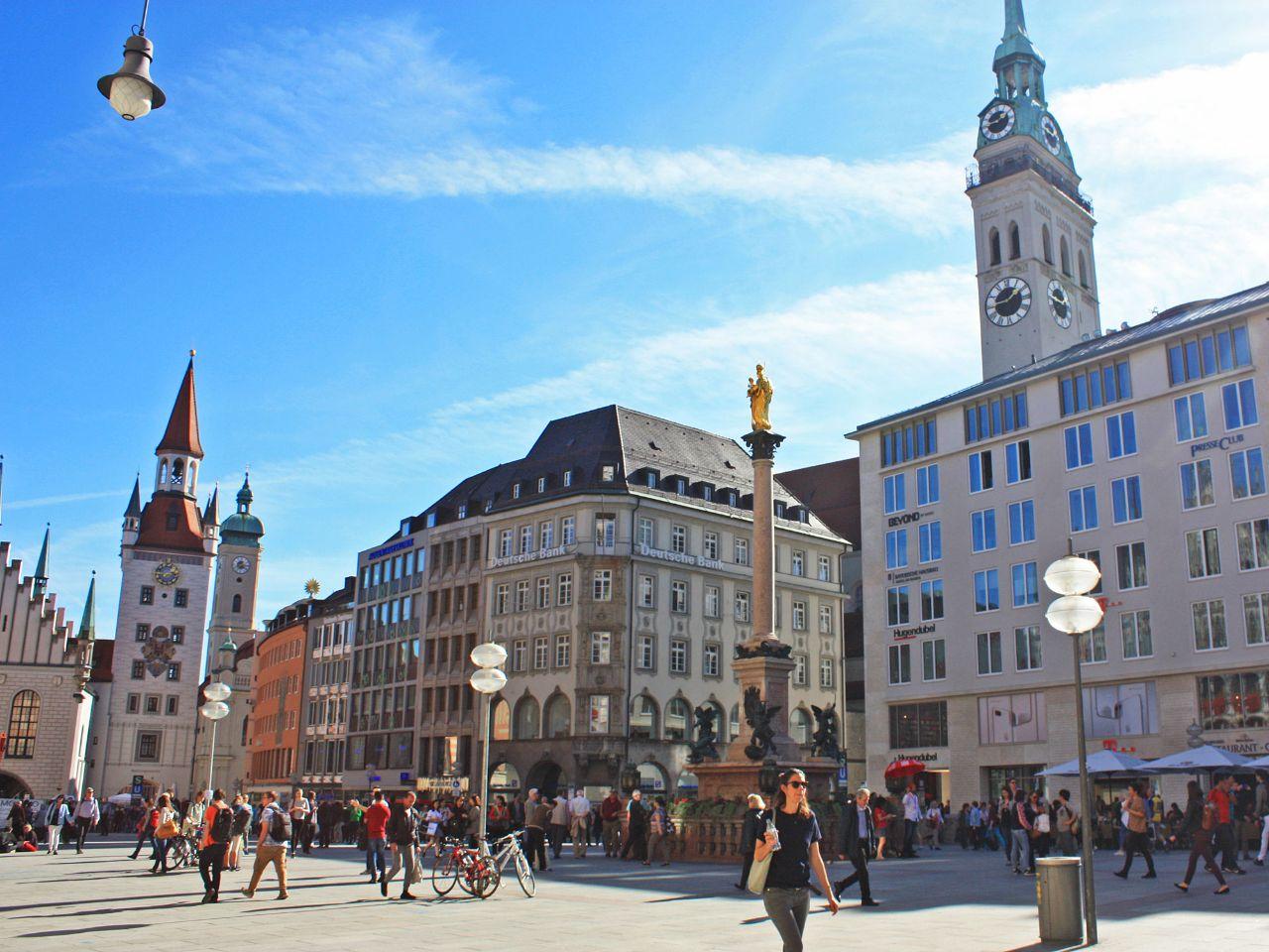 Marienplatz In München Das Offizielle Stadtportal Muenchende