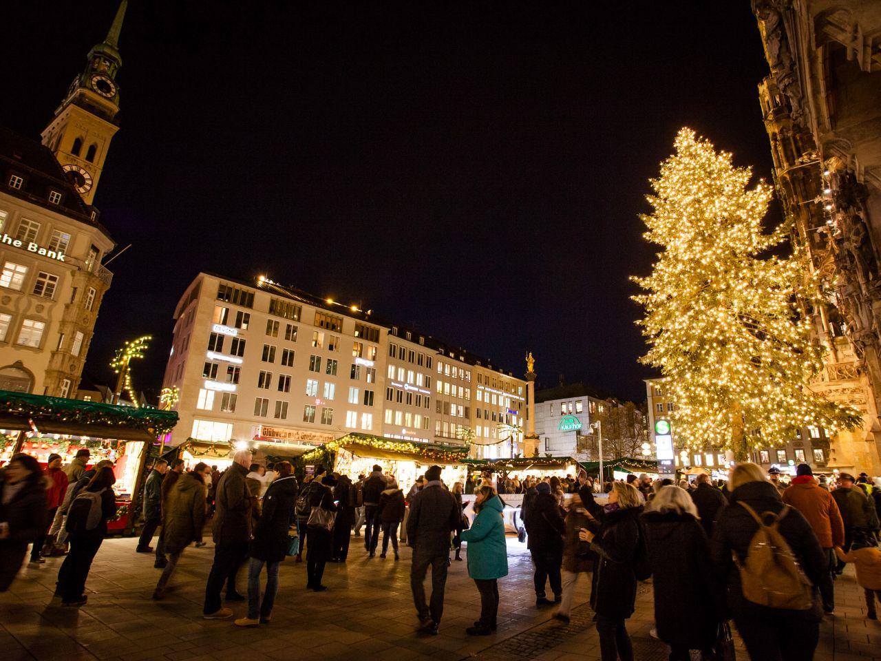 Weihnachtsmarkt Beginn 2019.Münchner Christkindlmarkt Rund Um Den Marienplatz Das Offizielle
