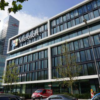 Neue Microsoft-Zentrale in der Parkstadt Schwabing eröffnet