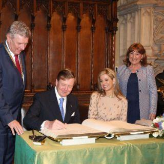 Der Besuch des niederländischen Königspaars in München