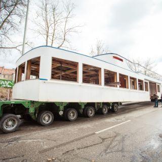 Ausflugsschiff MS Utting hat in München angelegt