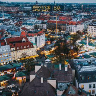 So schön leuchtet München zur Weihnachtszeit