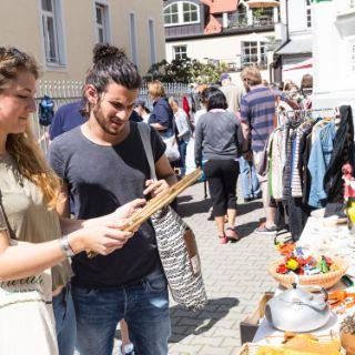 Hofflohmarkt Neuhausen