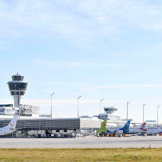 Eindrücke von der Flugabfertigung und Veranstaltungen am Flughafen München