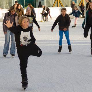 Impressionen vom Eis- und Funsportzentrum West