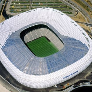 Bilder von der Allianz Arena München