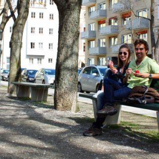 Münchner Sonnenplätze: Habsburger Platz