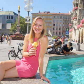 Fischbrunnen auf dem Marienplatz