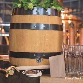 Hausgebraute Bierspezialitäten und Speisen in bester regionaler Qualität