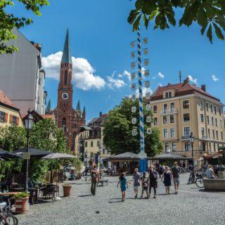 Eindrücke vom Wiener Platz in München Haidhausen