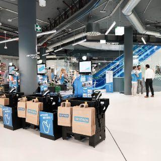 Opening des Decathlon im Mona Center München