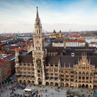 Marienplatz and New Town Hall