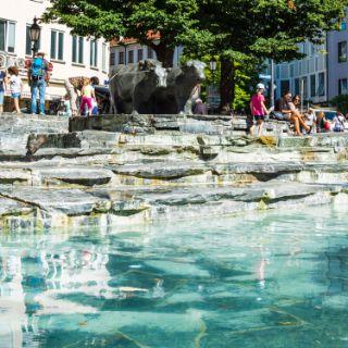 Der Rindermarktbrunnen