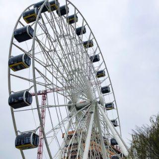 Eindrücke einer Fahrt im Riesenrad