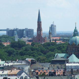 St. Johannes Baptist und St. Lukas (rechts)