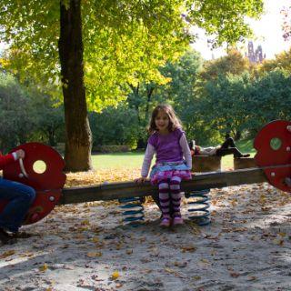 Bilder vom Alten Botanischen Garten im Herbst