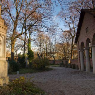Herbstspaziergang über den Alten Südfriedhof