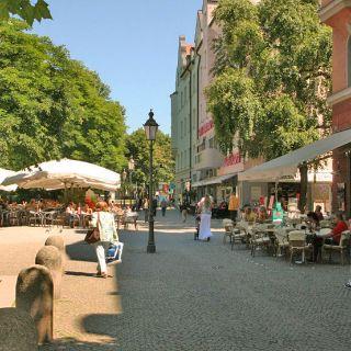 Lieblingsplätze - Die Münchner Freiheit in Schwabing