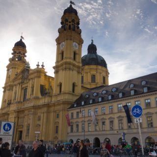 Impressionen vom Hofgarten und Odeonsplatz