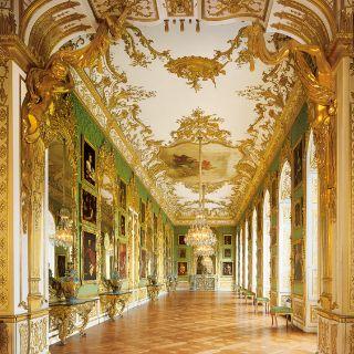 Grüne Galerie in der Residenz München