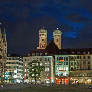 Sommernacht in München