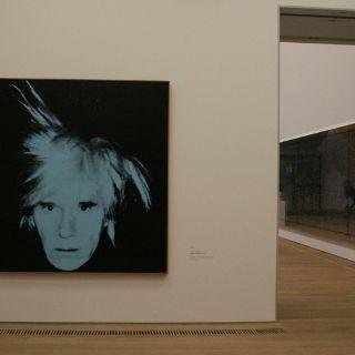 Die Sammlung Brandhorst umfasst Werke vieler namhafter Kunstler wie Andy Warhol...