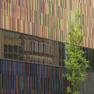 Außenansicht Museum Brandhorst