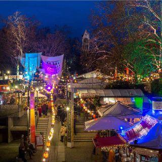 Zauberhafte Weihnachtswelt mit Kunst, Kunsthandwerk und Kulinarischem