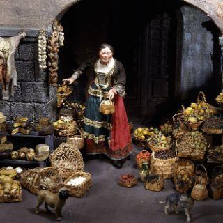 Gemüsehändlerin in Neapel