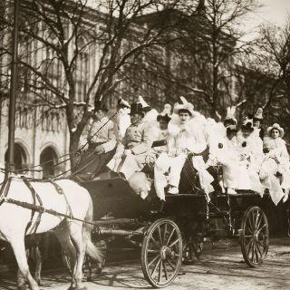 Der Münchner Fasching im Wandel der Zeiten - Bildauswahl von 1894 bis 1975