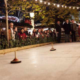 Winterzauber auf dem Viktulienmarkt