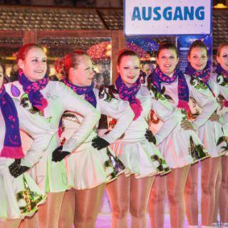 Prinzenpaare verbreiten Faschingsstimmung beim Münchner Eiszauber