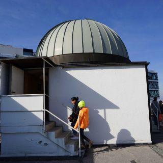 Spannende Eindrücke bei der Sternwarte