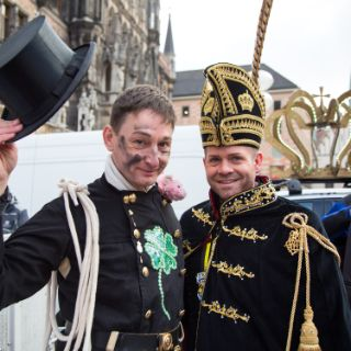 Die Inthronisation der Faschingsprinzen 2018