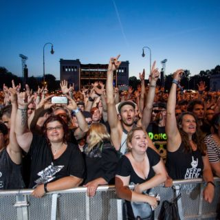So feierten die Rock-Fans auf dem Königsplatz