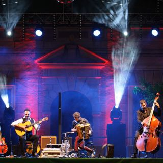 Ein Fest für die Sinne: Laue Sommerabende, dazu Konzerte in königlichem Ambiente