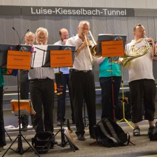 Tunnel Bürgerfest Luise-Kiesselbach-Tunnel 2015