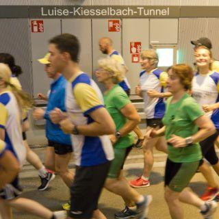 Tunnellauf Luise-Kiesselbach-Tunnel