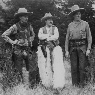 Drei bayerische Cowboys