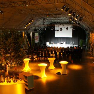 Tonhalle München auf dem Gelände der Kultfabrik