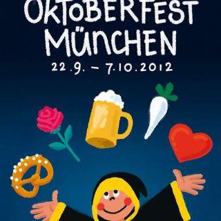 Oktoberfestplakat 2012