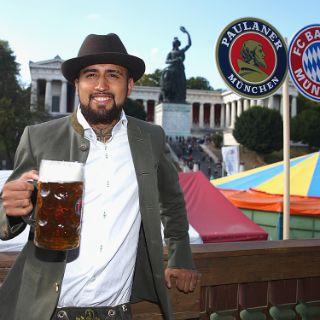 Der FC Bayern auf der Wiesn 2015