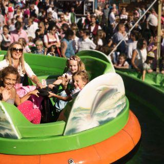 Spaß für Kinder auf dem Oktoberfest