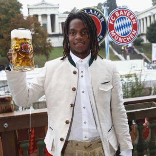Der FC Bayern in Wiesnstimmung