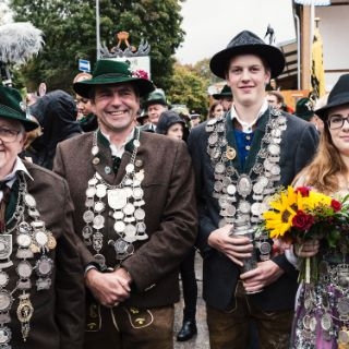 Böllerschießen auf dem Oktoberfest 2017